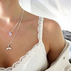 Jewelry - 3 for $20 Mermaid Moonstone Necklace